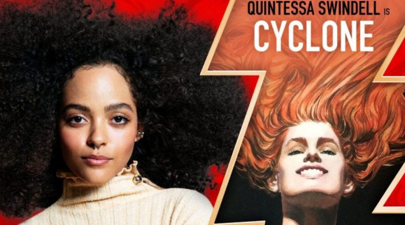Quintessa Swindell joins the cast of Black Adam, with Noah Centineo!